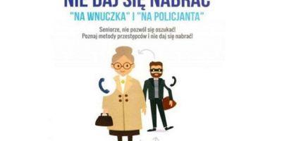 Wnuczek dzwoni. 80-letnia kobieta straciła ponad 6 tys. złotych
